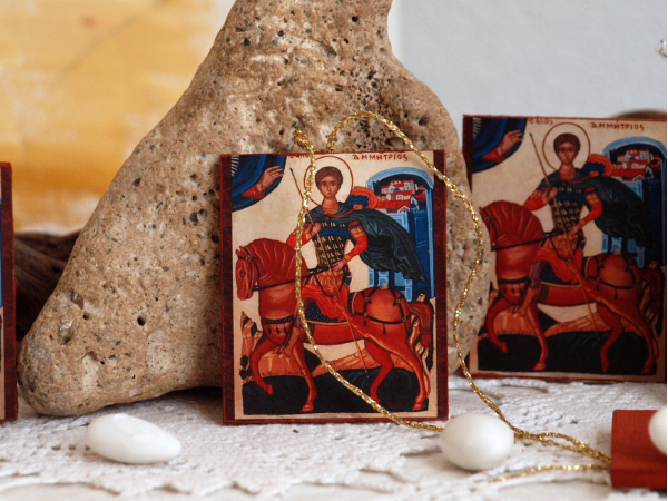 Favours for an orthodox baptism