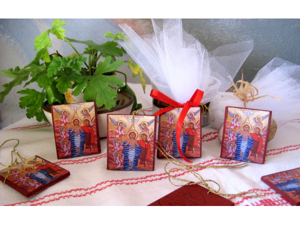 Mini icon gifts with the  Baprism of Christ
