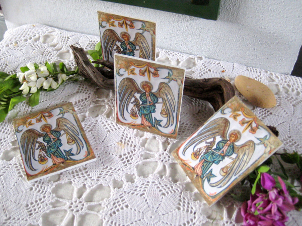 Religious icon favors and gifts for baptism