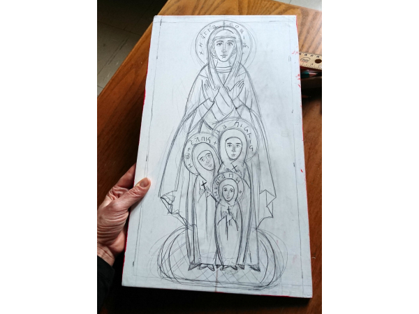 Made to order St Sofia and daughters