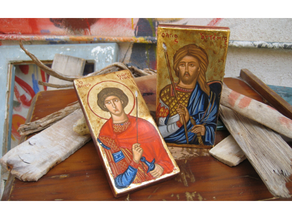 Sts Artemios and George