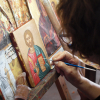 Painting Christ´s image