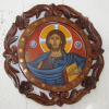 Religious holy iconography of Greece and Cyprus