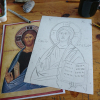 Tracing pattern of the  icon by angelicon