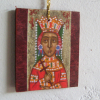 Hanging charms and mini religious amulets
