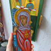 Size of the icon of the female Saint