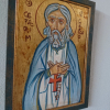 Original icon of the russian saint and monk