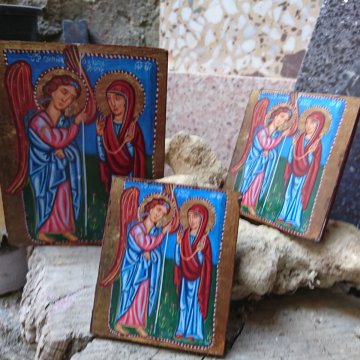 Greek baptism gifts in two sizes