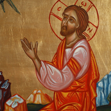 Agony of Christ in the garden of Gesthemane