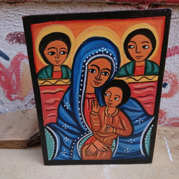 African Art inspired icon