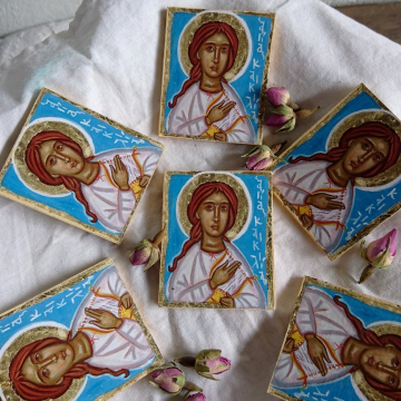 The patron of the musicians icon gifts