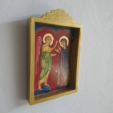 An Ethnic religious artefact to hand on the wall