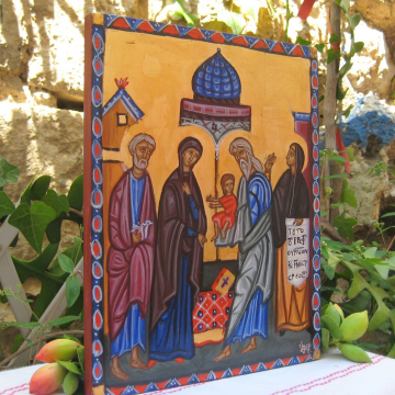 Presentation of our Lord Jesus Christ to the Temple