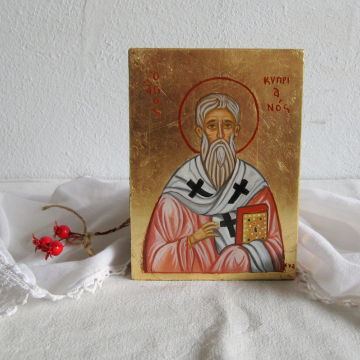St Cyprian bishop of Carthage