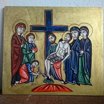 Deposition from the Cross icon