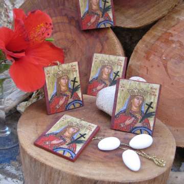 Saint Catherine mini icons