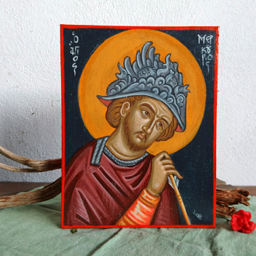 Saint Mercurius icon