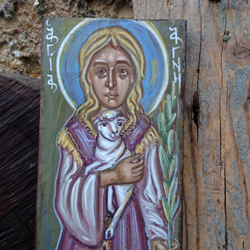 Icon of the female martyr