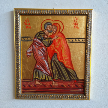 Embrace of Sts Joachim and Anne