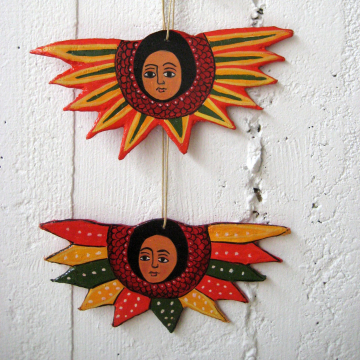 Ethnic and African art colors