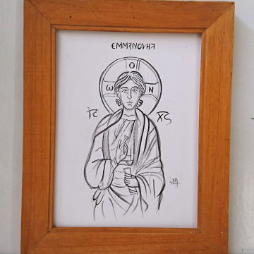 Drawing And Tracing Religious Icons Angelicon