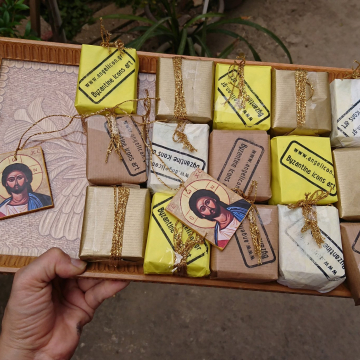 Custom order for 100 pieces of Mini baptism favor icons free shipping  traditional christening favor greek orthodox boubouniera gift